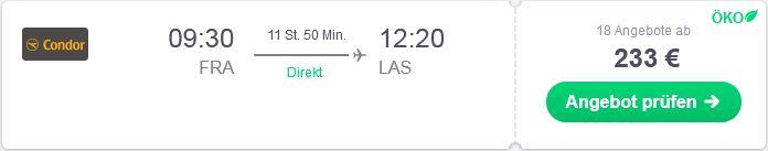 Günstig nach Las Vegas fliegen
