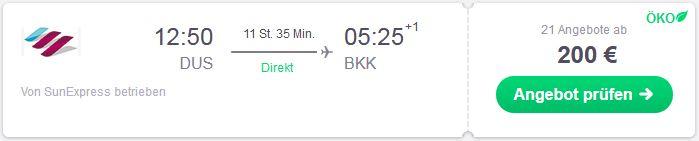 Mit Eurowings guenstig nach Thailand