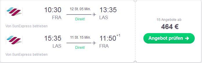 Flugsuche Tipps von Deutschland nach Las Vegas