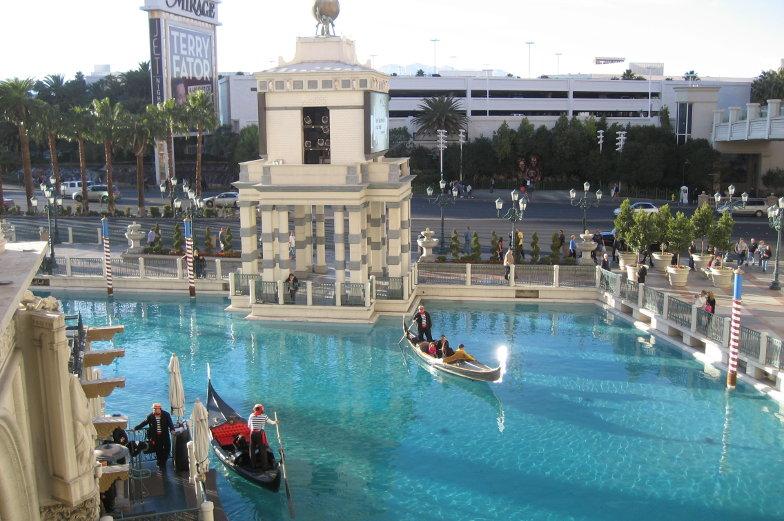 Las Vegas Tipps im Venetian Hotel Gondeln fahren