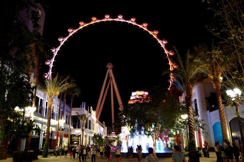 Las Vegas Tipp Highroller Riesenrad fahren Las Vegas