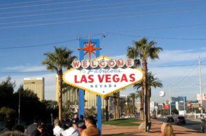 Besuche das Willkommensschild das Las Vegas Sign Reisetipps