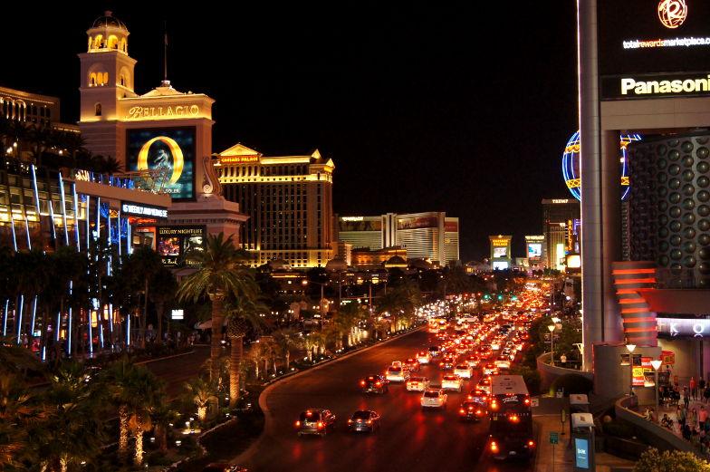 The Strip bei Nacht Las Vegas Reisetipps