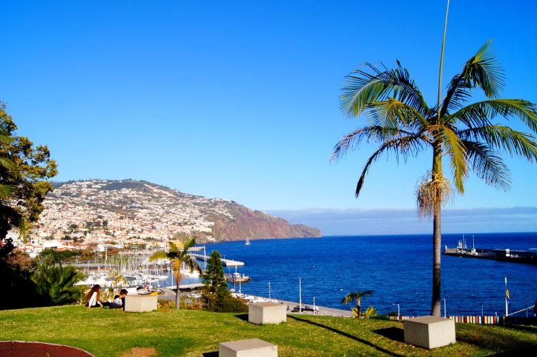 Tipp Santa Catarina Park mit Aussicht in Funchal Madeira
