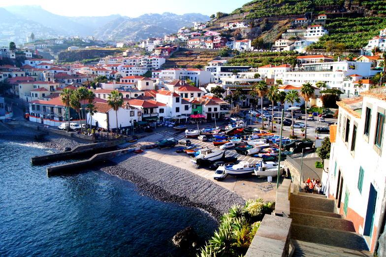 Churchill Blick auf Camara do Lobos Madeira