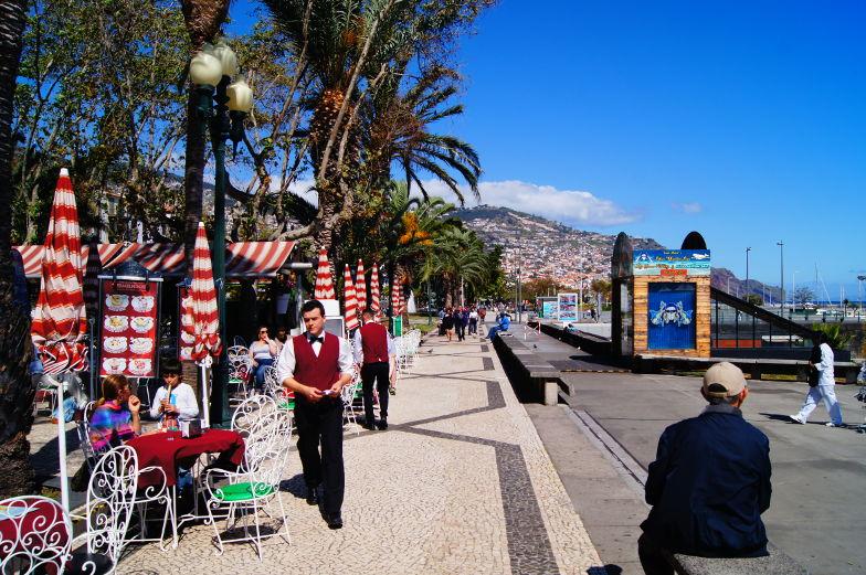 Funchal Tipps Promenade am Hafen Madeira