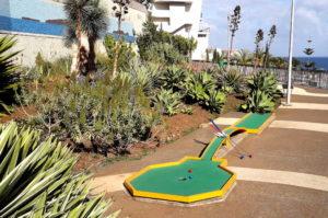 Funchal Tipps Minigof spielen im Panoramic Garden