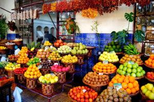Funchal Tipp Mercado dos Lavradores viel Obst aber teuer