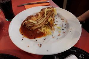 Lasagne aus Palatschinken Budapest Essens Tipp