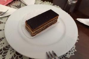 Ungrische Zserbo Kuchen in Budapest