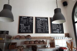 Gutes Brot gibt es in der Artizan Baeckerei in Budapest