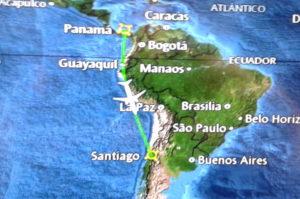 Gutes Bordunterhaltungsprogramm ist bei Langstreckenflug nach Chile wichtig