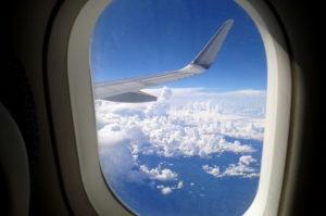 Aussicht aus Flugzeug nach Santiago de Chile Flugtipps und Erfahrungen