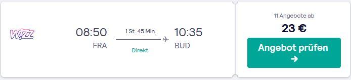 So fliegst du guenstig nach Budapest