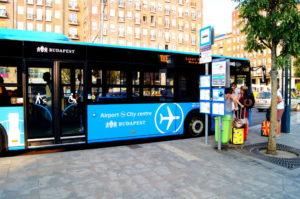Airport Bus Flughafen Bus Budapest Insidertipp