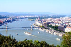 Ausblick Gellertberg Budapest Insider Tipp