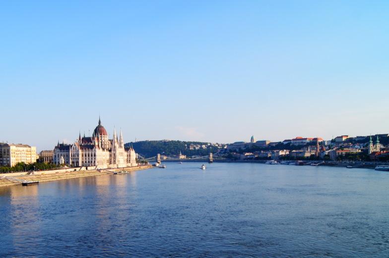 Blick auf Parlament Tipp und Sehenswuerdigkeit Budapest