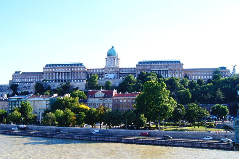 Burgpalast Sehenswuerdigkeit in Budapest