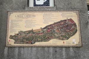 Stadtplan Burgviertel Budapest Sehenswuerdigkeiten