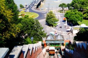 Tipp mit der Standseilbahn zum Burgviertel Budapest