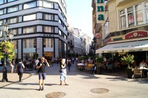 Vaci Utca Einkaufsstrasse Innenstadt Shoppingtipp Budapest