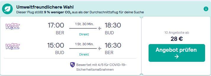 Flug Angebot Budapest Reise