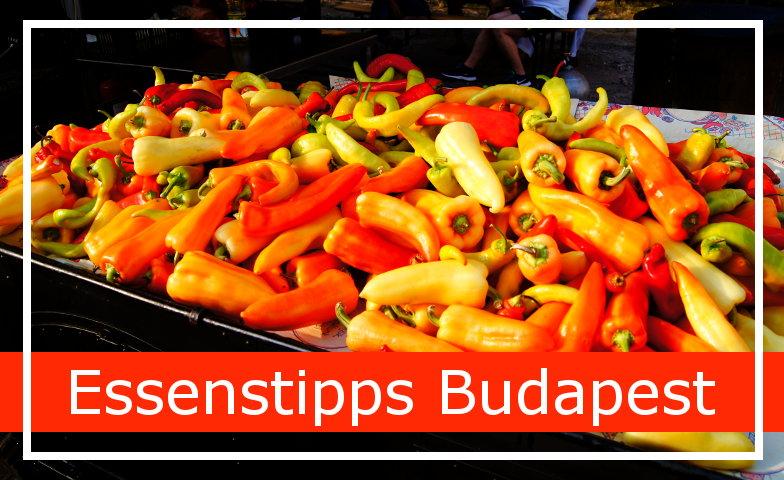 Die besten Essenstipps fuer Budapest