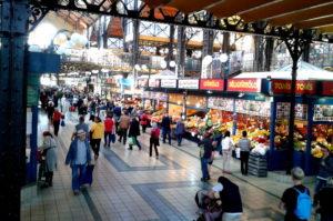 Info die Grosse Markthalle in Budapest besuchen