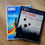 Fernweh Zeitschriften rund ums Reisen