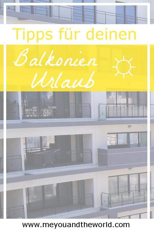 So wird dein Balkonien Urlaub erholsam