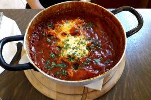 Kulinarische Weltreise nach Israel und Nordafrika Shakshuka Spezialität