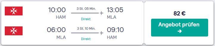 Flugsuche von Hamburg nach Mannheim