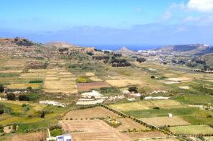 Aussichtspunkt in Victoria auf Gozo