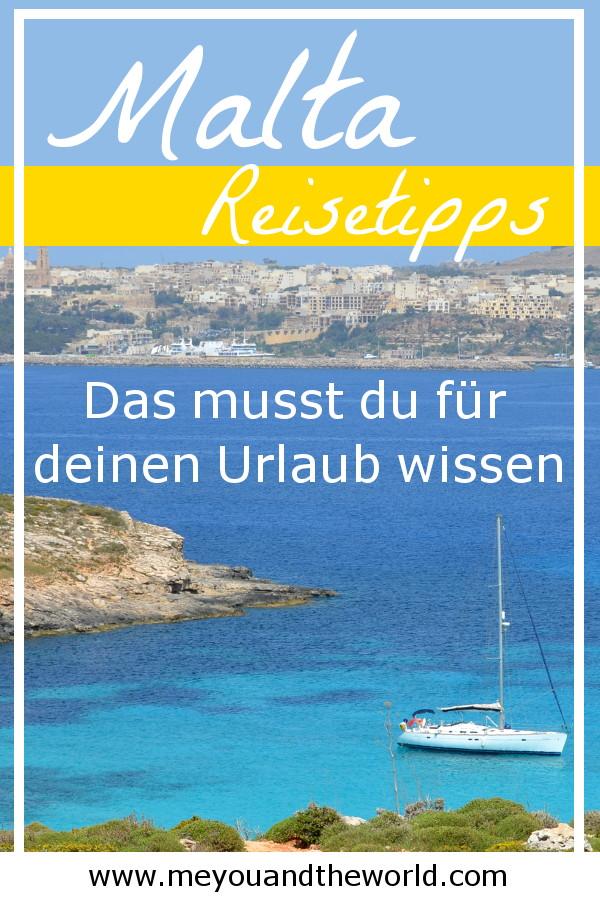 Alles was du für deinen Malta Urlaub wissen musst