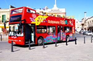 Malta Reisetipps Sightseeing Bus