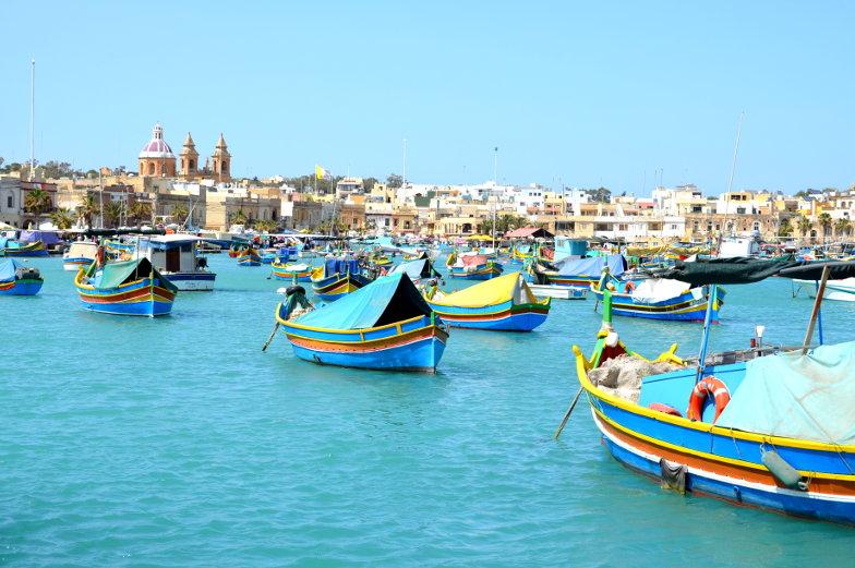 Die besten Tipps Fischerboote in Marsaxlokk auf Malta