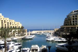 Portomaso Marina in St. Julians auf Malta