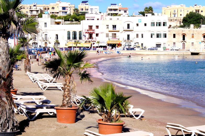 Strandempfehlung St. George´s Bay auf Malta