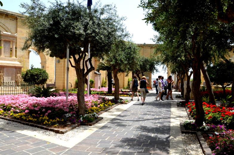 Valletta Upper Barrakka Garten sehenswert