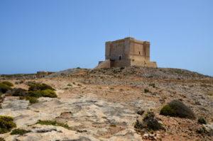 St Mary´s Tower wandern auf Comino
