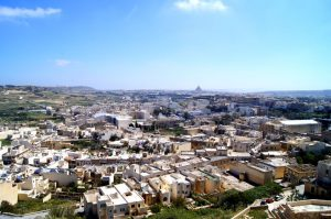 Victoria Ausblick auf Gozo