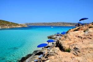 Traumhafte Landschaft Comino Blaue Lagune