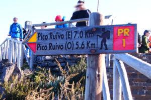 Wanderung zum Pico Ruivo