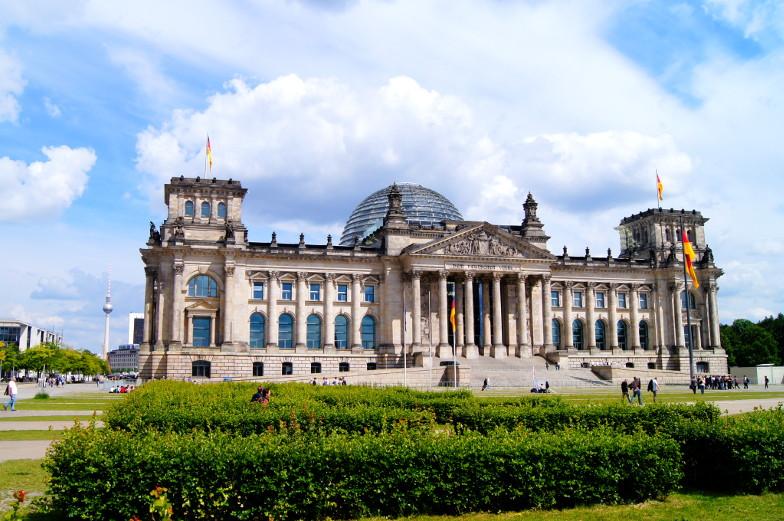 Reiseziel Berlin Ausflug zum Deutschen Bundestag