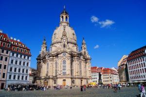 Ausflugsziel Frauenkirchen in Dresden
