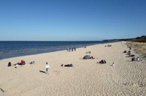 Reisetipp Zinnowitz auf Usedom langer Sandstrand