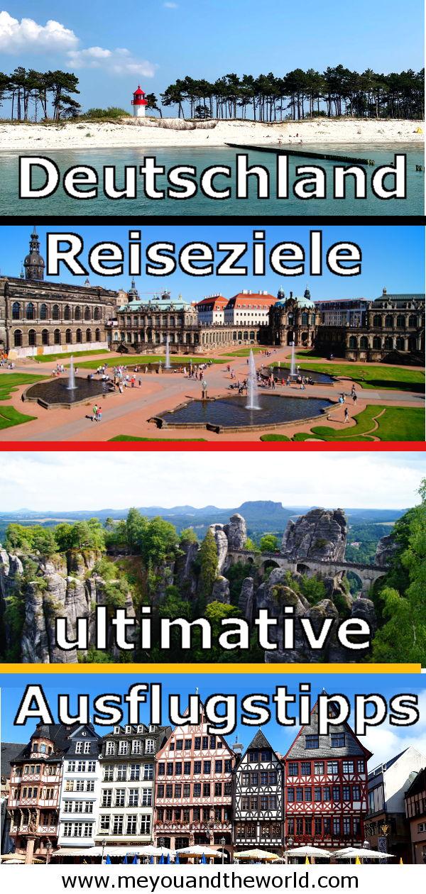 Die besten Reiseziele und Ausflugstipps in Deutschland