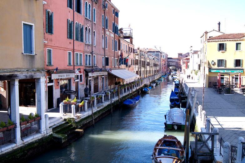 Venedig ist ein schoenes Reiseziel in Europa