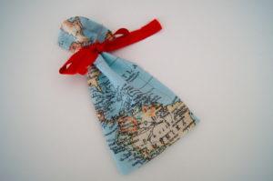Weltreise Adventskalendergeschenke verpacken