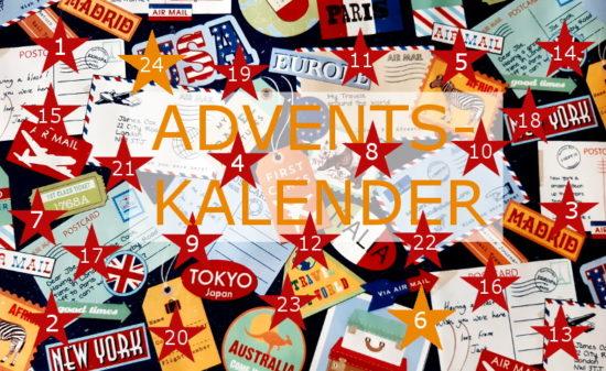 Ideen für einen selbstgemachten Reise Adventskalender